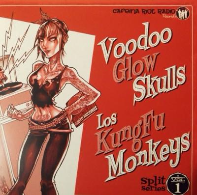Voodoo Glow Skulls_Los Kung-fu Monkeys Split