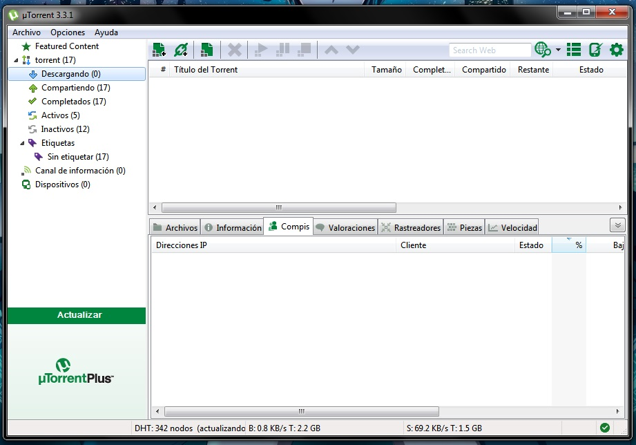 Tutorial: ¿Como usar uTorrent? (2/6)
